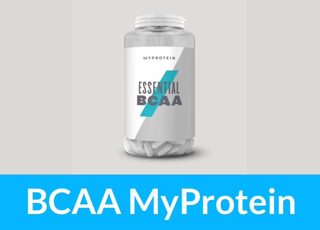 BCAA MyProtein essential