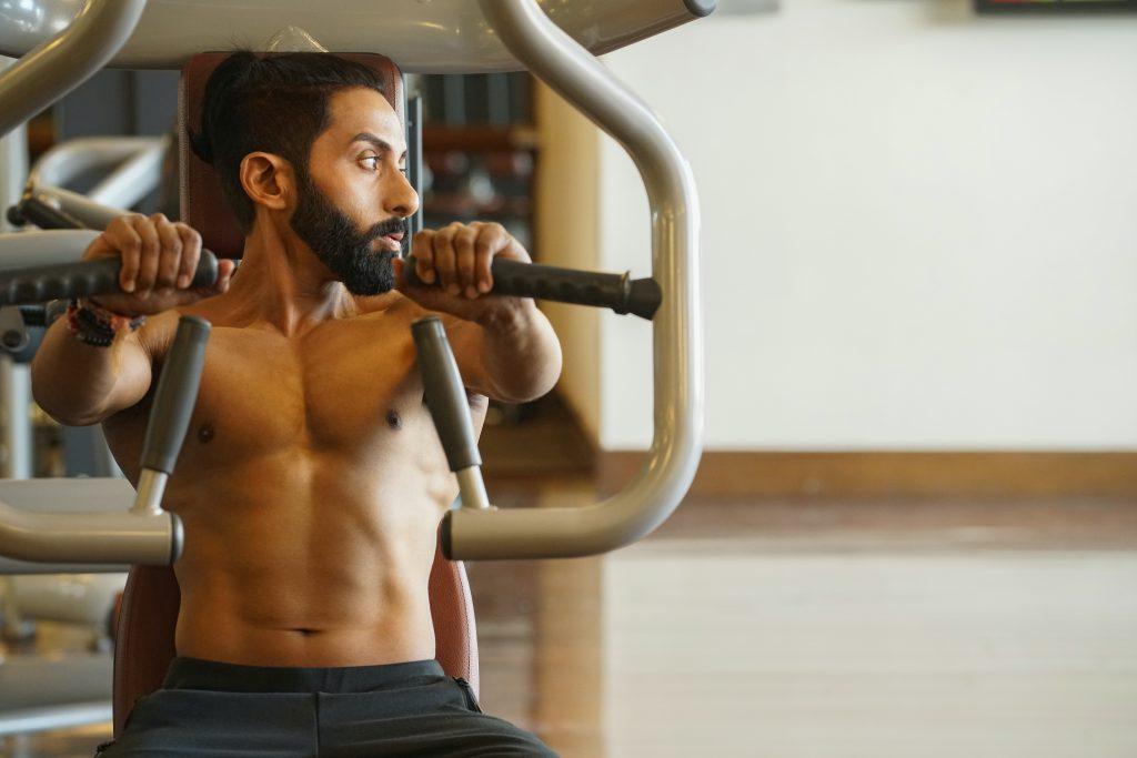 macchina muscoli